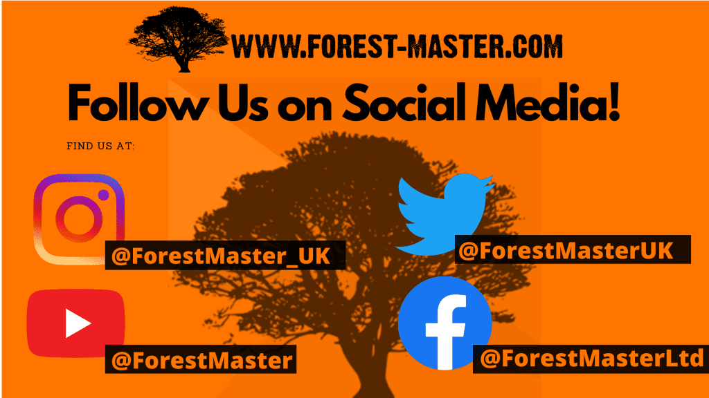 instagram, twitter, facebook, youtube, forest master