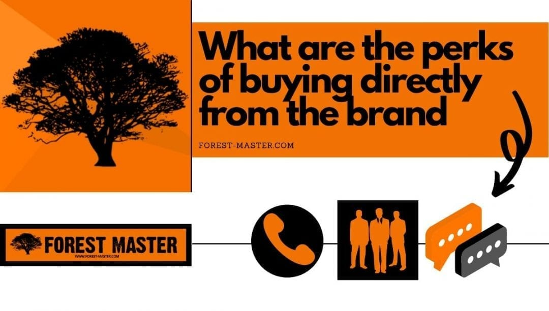 what are the perks of buying directly from the brand, banner