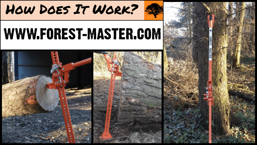 Forest Master, Felling Lever, Farm Jack, Forest, Forestry