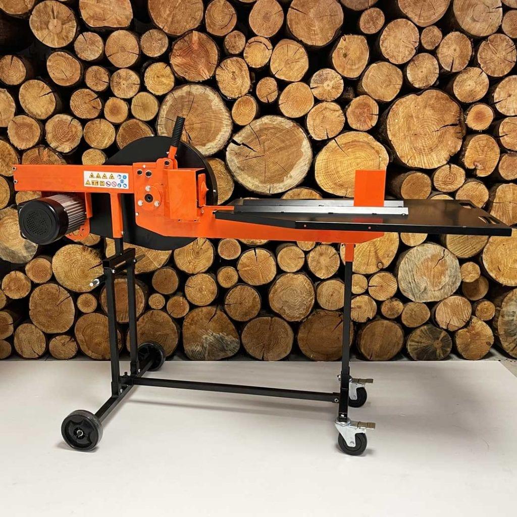 fast fire kinetic log splitter, electric log splitter
