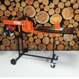 Petrol Log Splitter, Kinetic Log Splitter, Honda GX35 Petrol Engine
