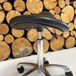 saddle stool, gas adjustable lift