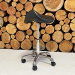 fully adjustable saddle stool