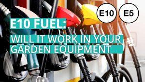 e10 fuel, can you use e10 petrol in garden equipment