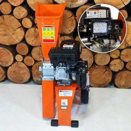 Electric Start Mulcher, 6HP Petrol Garden Shredder